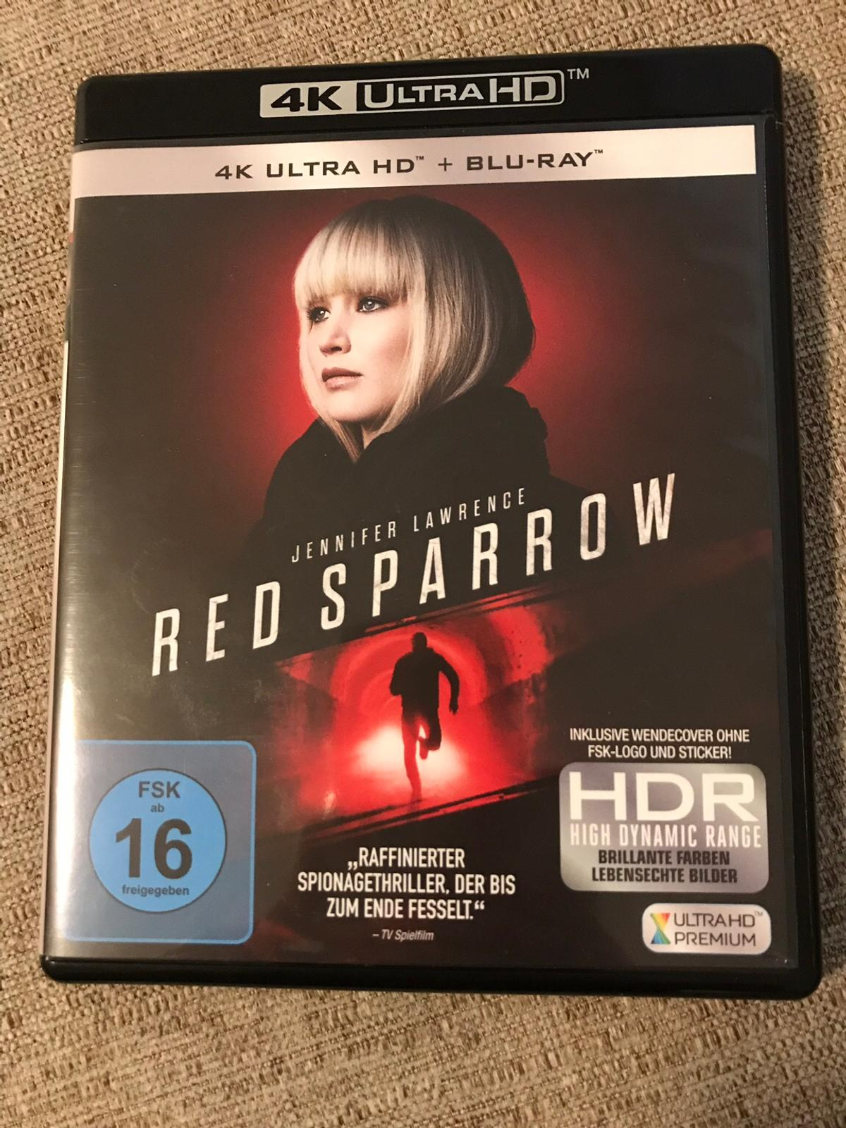 Red Sparrow 4K UHD + Blu Ray Film in 6020 Innsbruck for €14.00 for sale