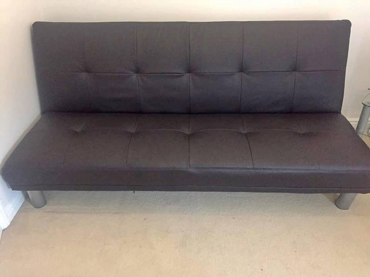 The Click Clack Sofa Bed In Brown And Black In E1 0ae London Fur 1