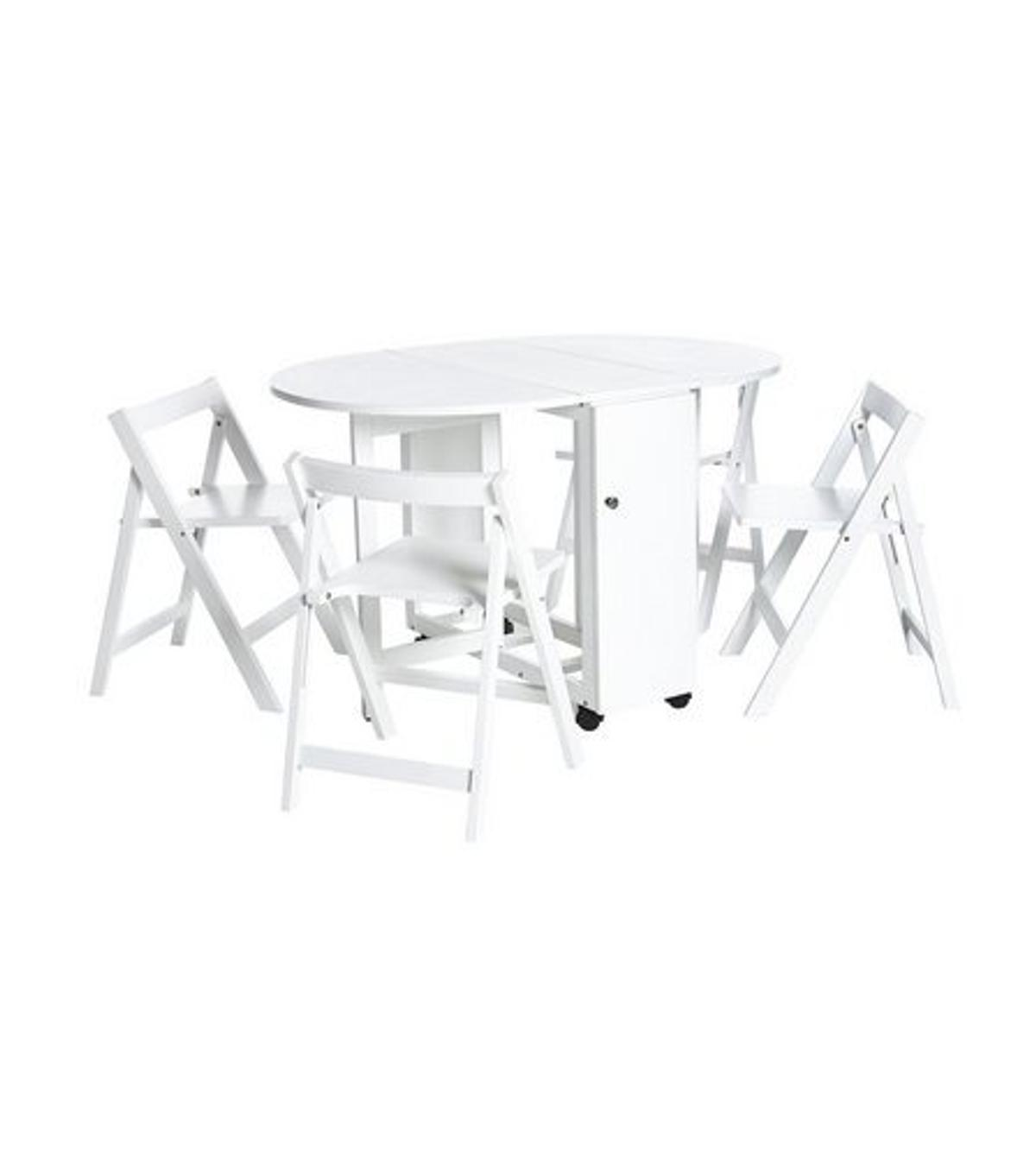 - Butterfly Folding Dining Table White Oak In M350BN Failsworth Für