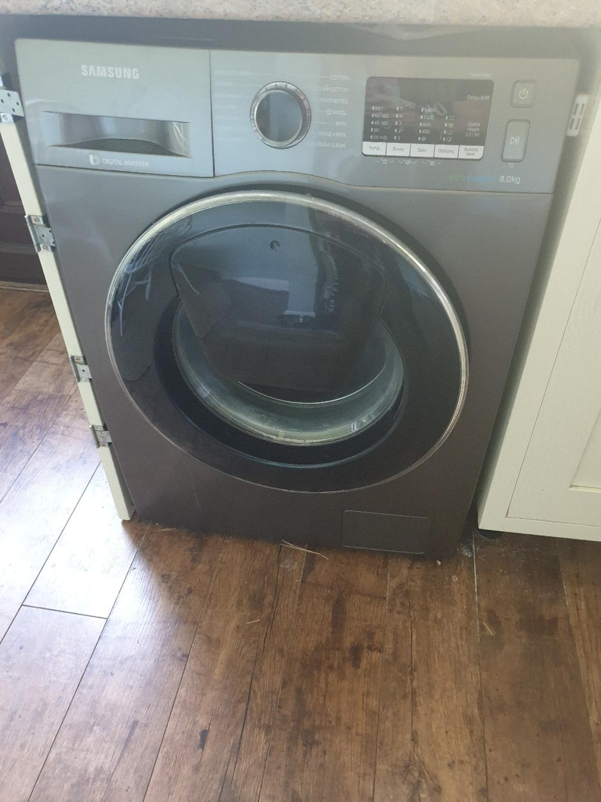 Samsung Ecobubble Addwash Washing Machine