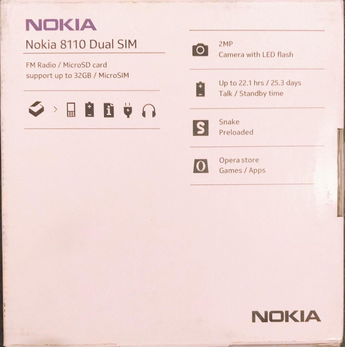 Nokia 8110 in E6 Newham for £15 00 for sale - Shpock