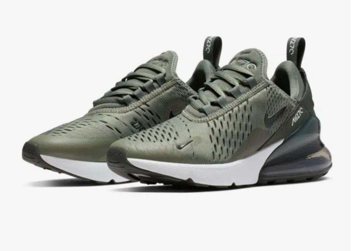 sports shoes 286c7 0cf1a Nike Air Max 270 Olive and Black