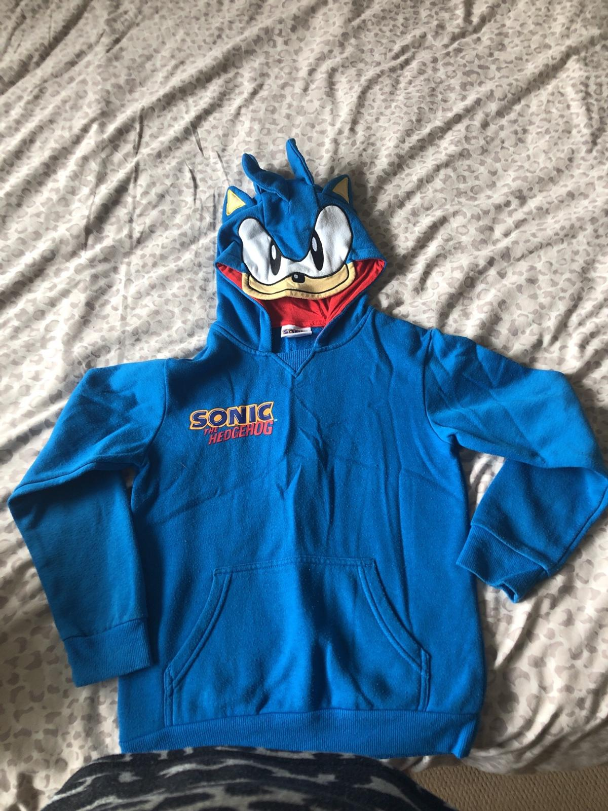 Sonic The Hedgehog Hoodie Age 9 10 In Wv12 Walsall For 3 00 For Sale Shpock