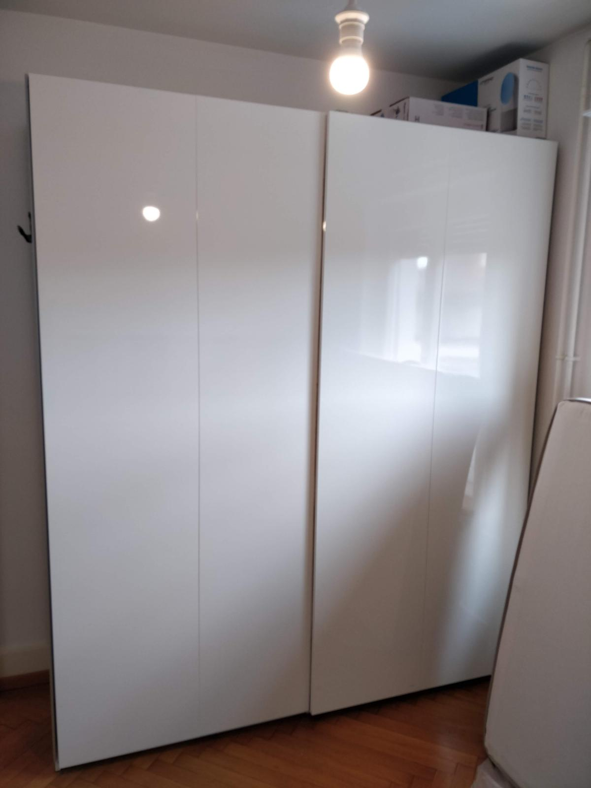 Armoire Pax Ikea Double Blanche In 1700 Fribourg