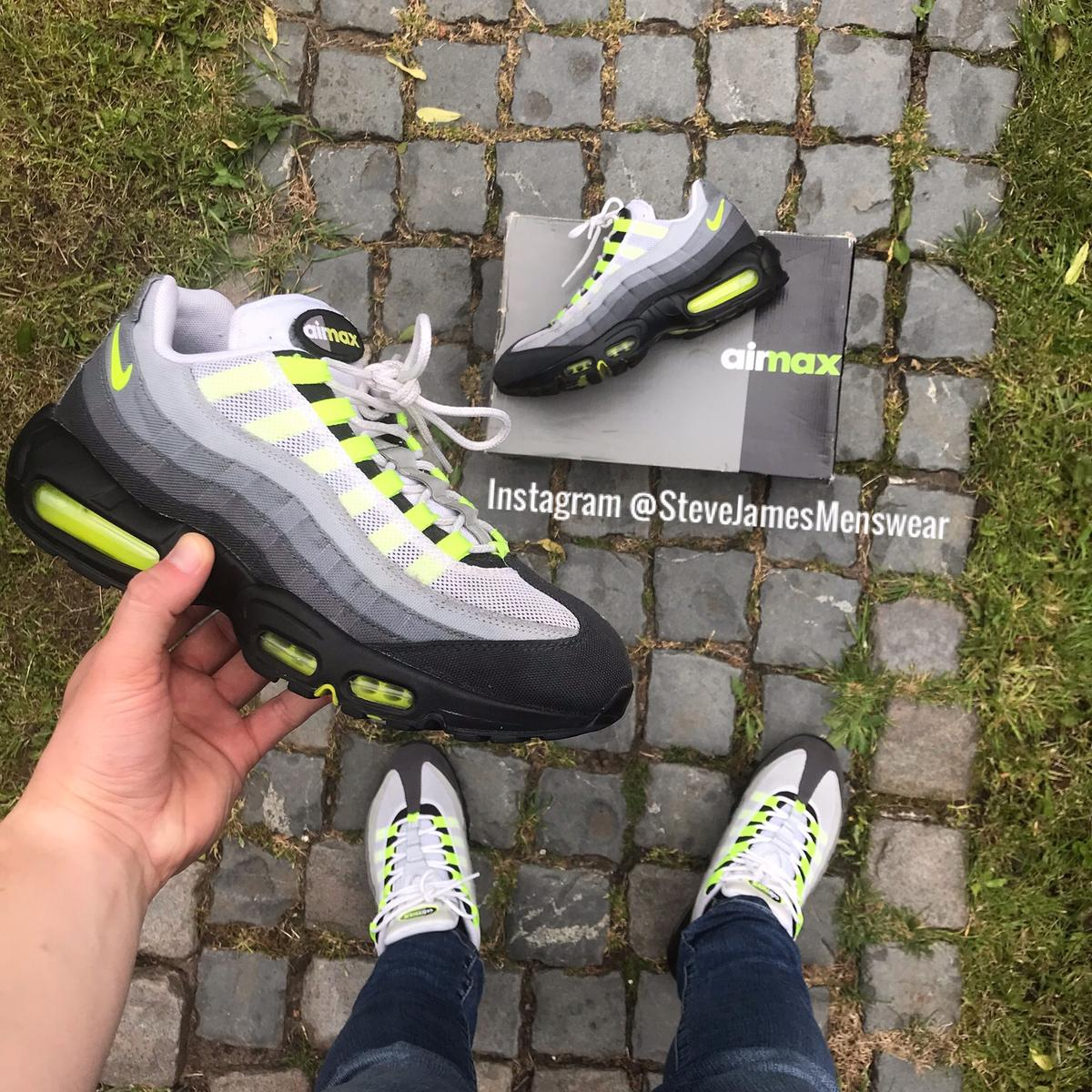 get cheap 56448 5b847 Nike Air Max 95 - OG Neon - Patch - UK 7.5 in L3 Liverpool ...