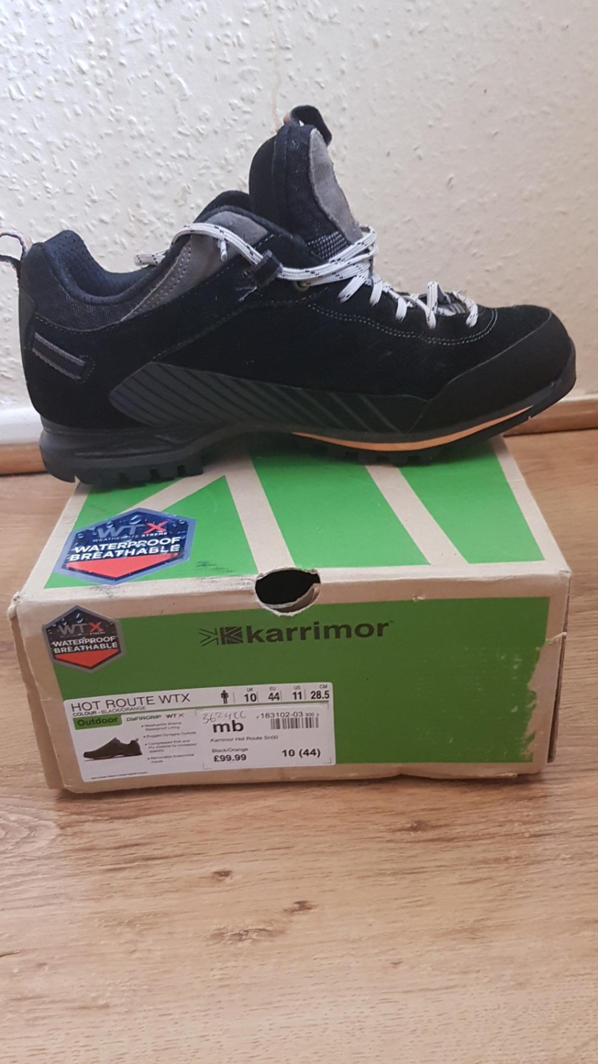 factory price great prices entire collection karrimor waterproof walking shoes in CV4 Coventry for £10.00 for ...