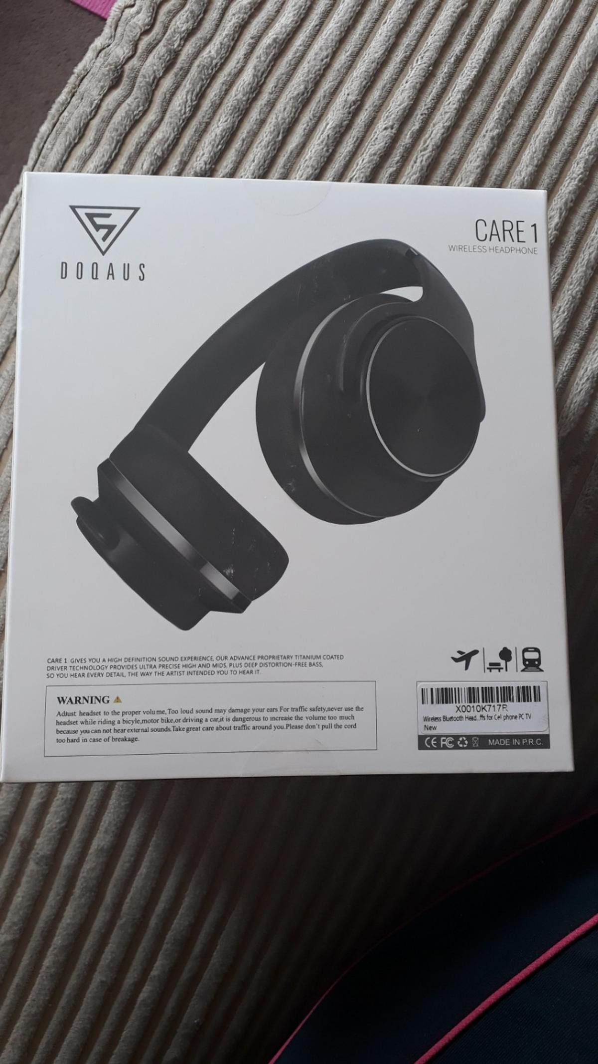 Brand new Doqaus wireless headphones