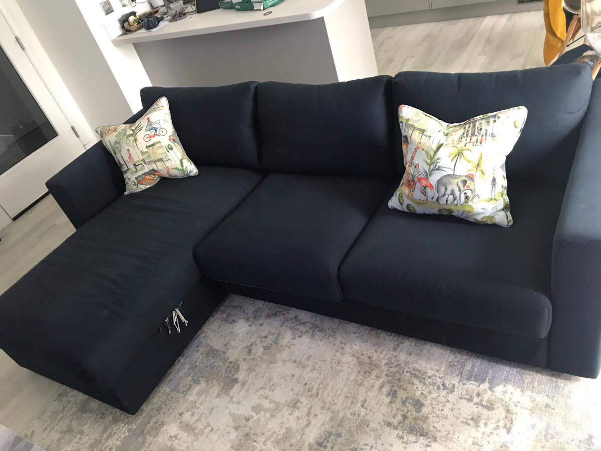 Brilliant Ikea Vimle Sofa With Chaise Longue In G11 Broomhill Fur 180 Gamerscity Chair Design For Home Gamerscityorg