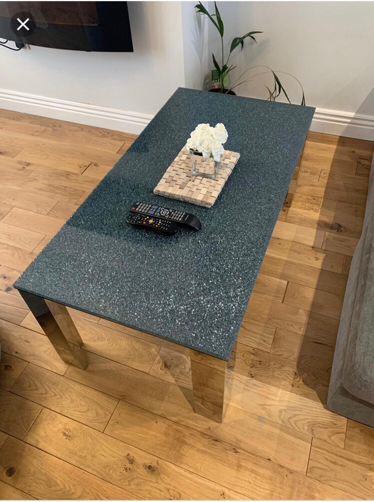 Dfs Shattered Gl Coffee Table In Sk4 Stockport For