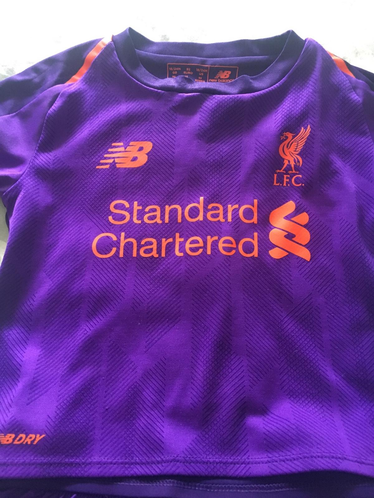 100% authentic 69461 b5e84 Boys Liverpool kit