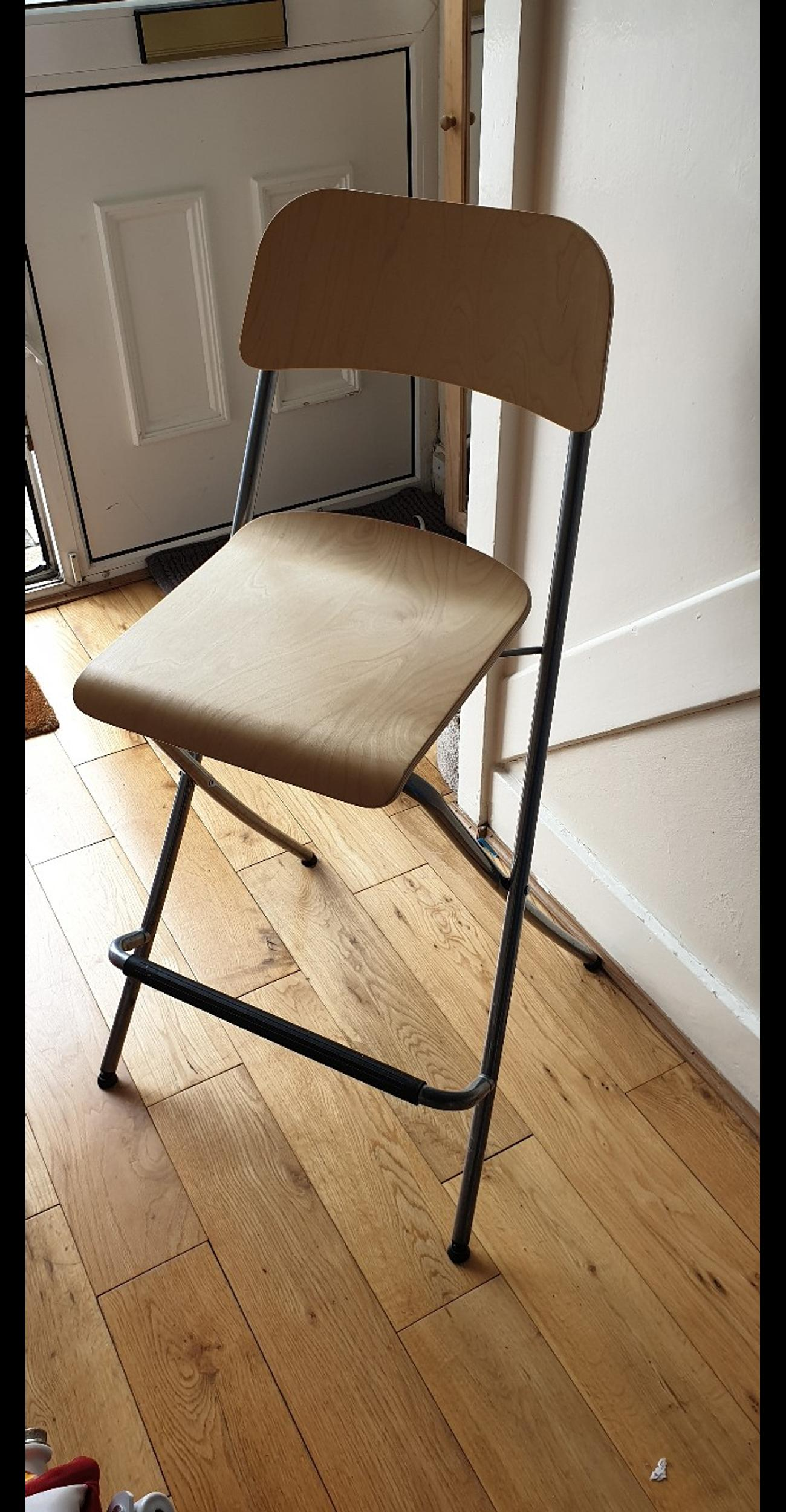 Fabulous Ikea Folding Bar Stool With Backrest Gmtry Best Dining Table And Chair Ideas Images Gmtryco