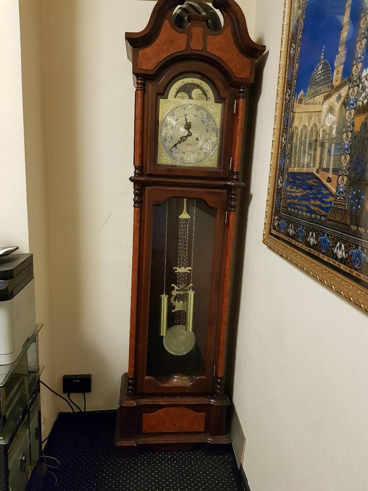 grandfather clock - vintage look -china in LE2 Leicester for
