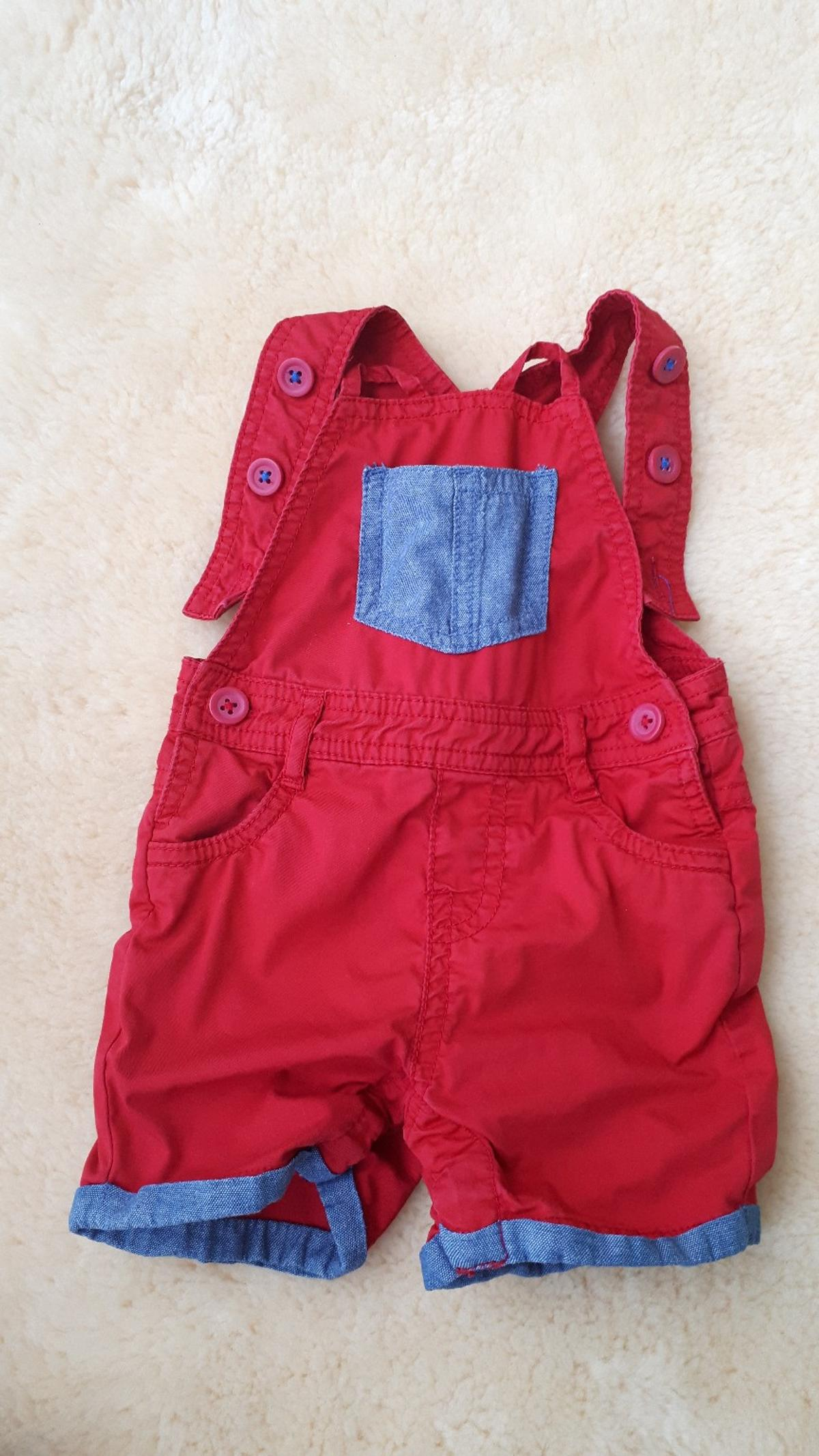 Cyrillus Baby-Jeans-Latzhose Overalls Jungen