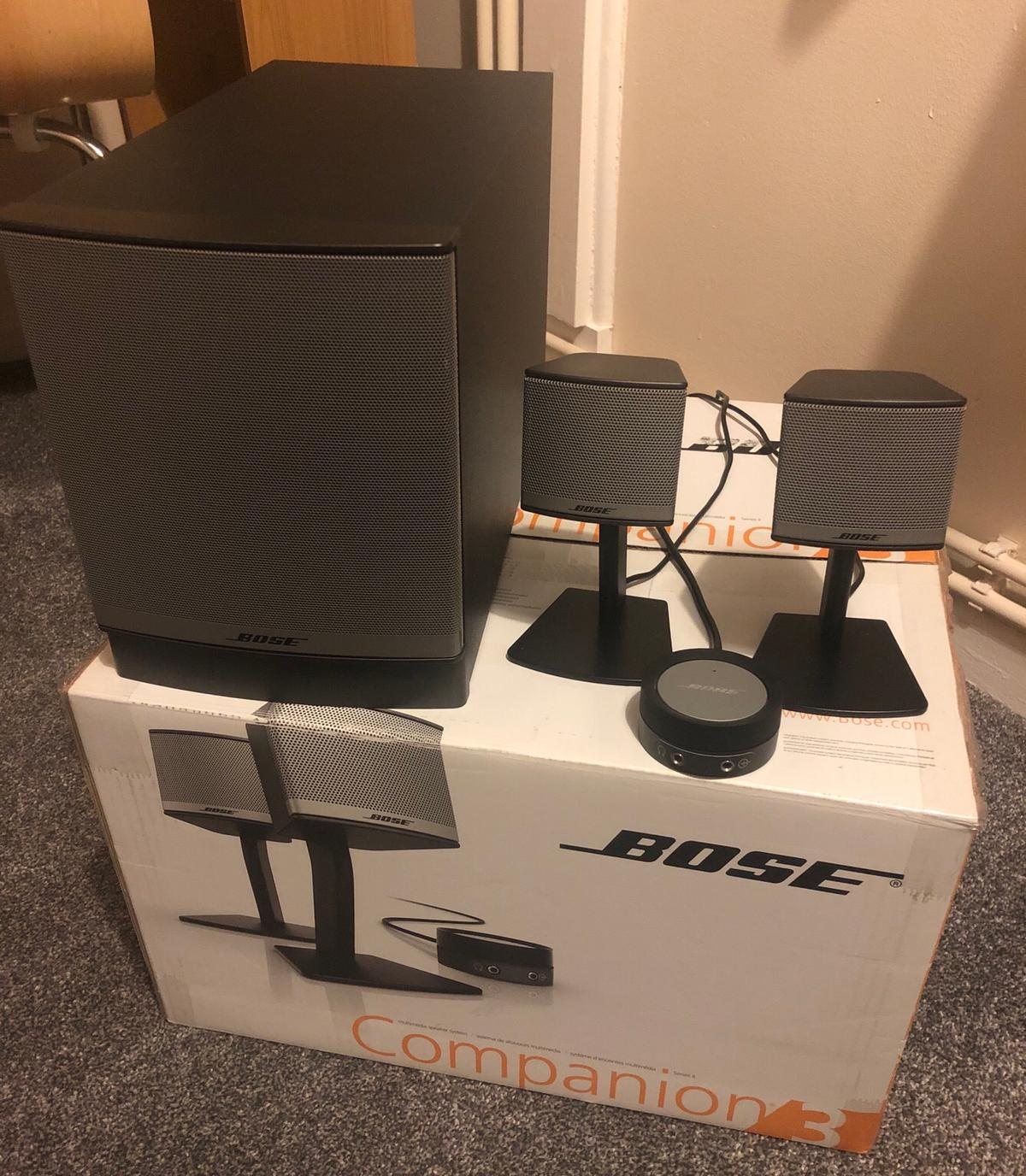 Bose Companion 3 series 2 multimedia speakers