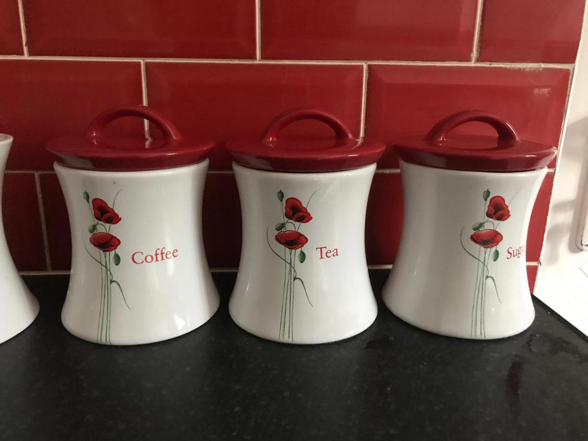 Kitchen Canisters Storage Set 6 Piece Set In B33 Birmingham For