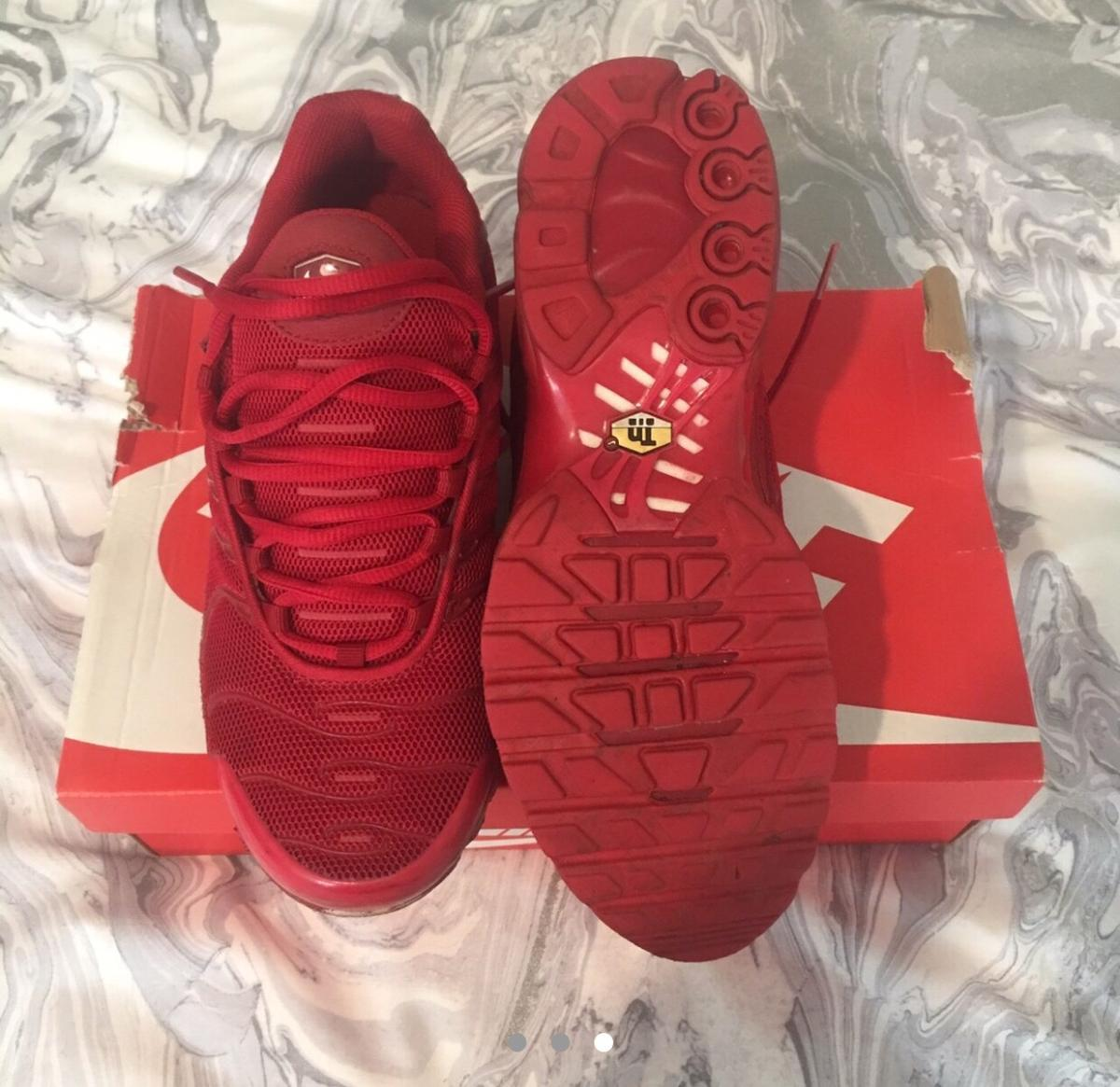 separation shoes 18263 a759f Nike Air max plus TNS red men's size 7
