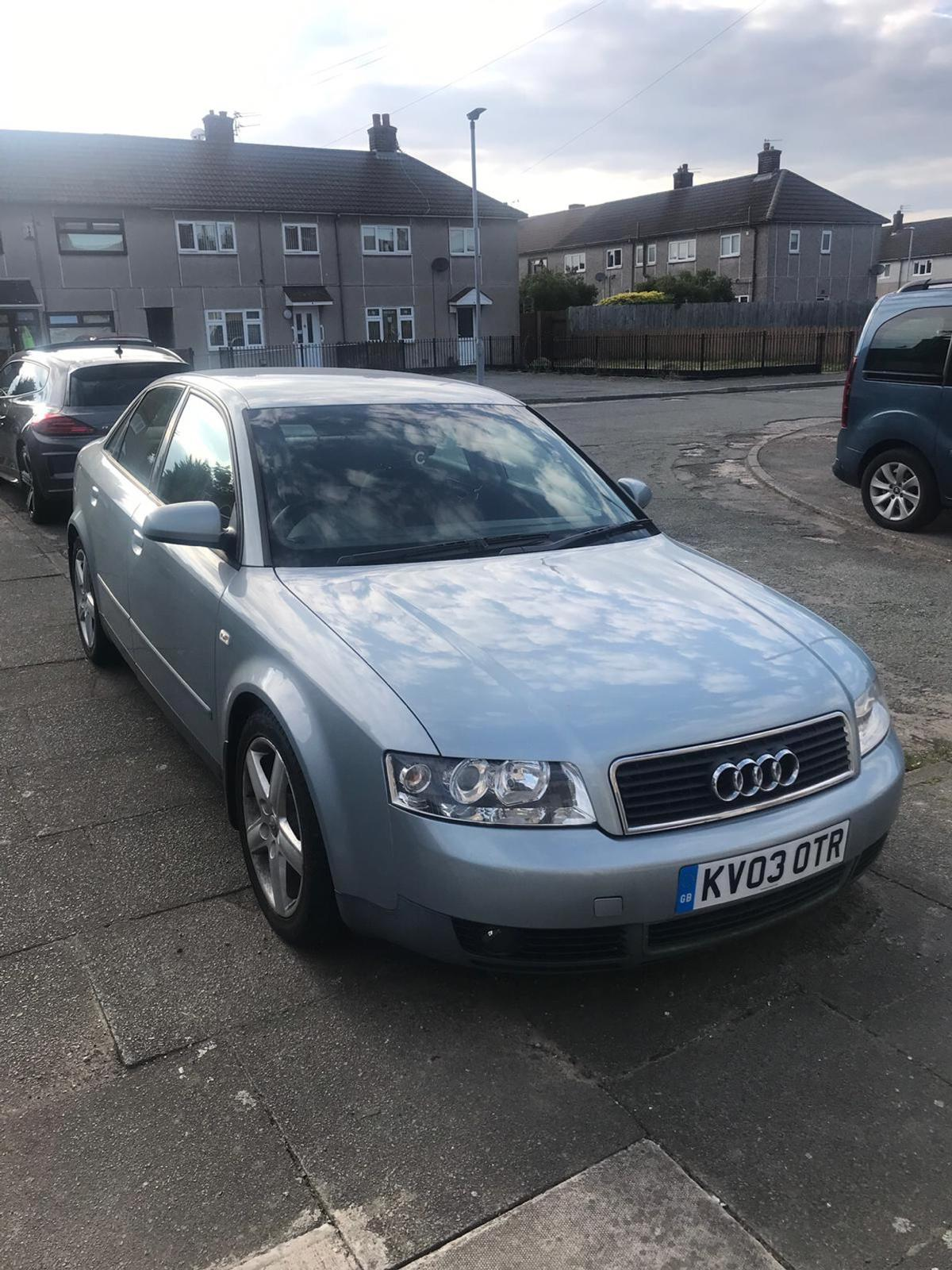 2003 Blue Audi A4 Tdi Sport In Wa8 Ditton For 300 00 For Sale Shpock