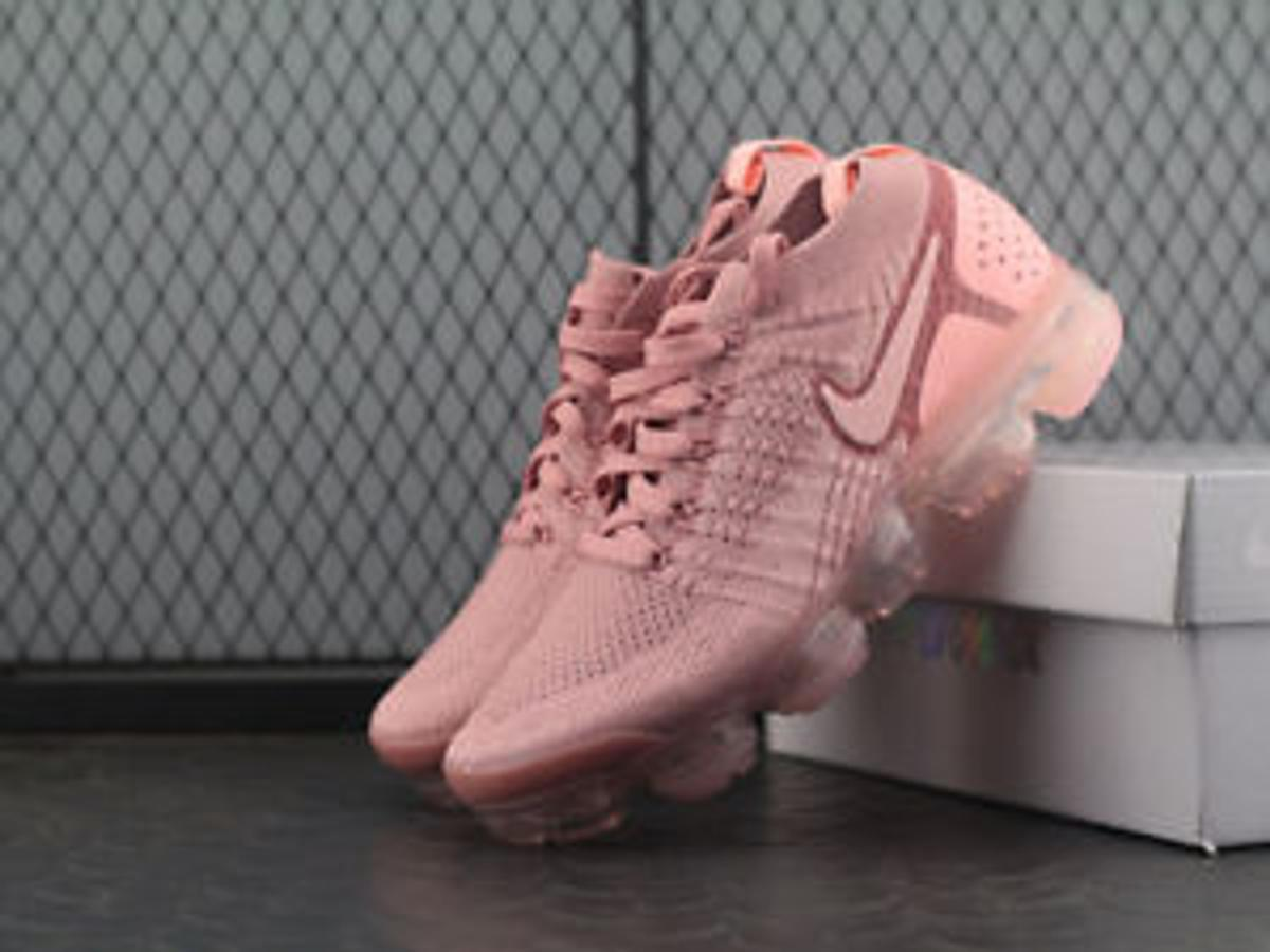 special for shoe newest 100% genuine Nike vapormax Flyknit 2.0 pink rust women's
