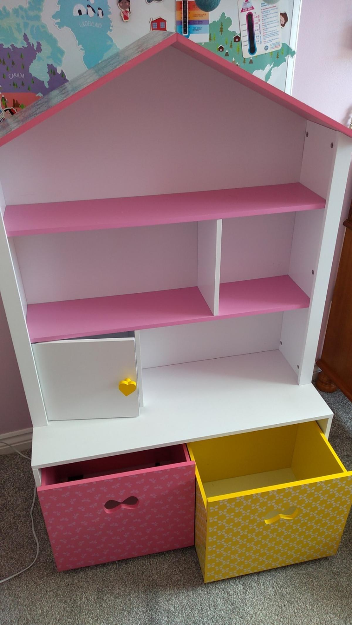 Doll S House Bookshelf Library