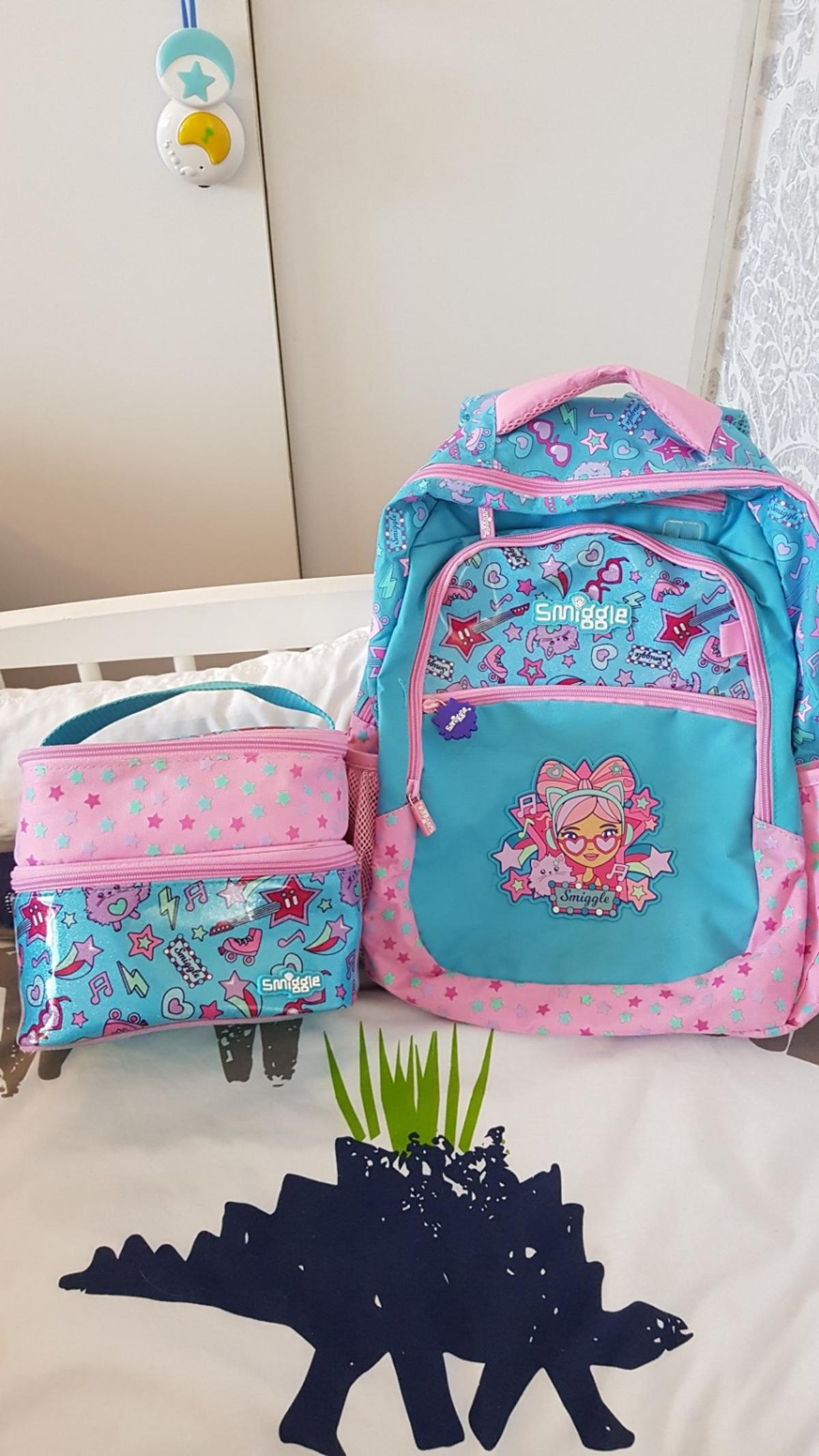Smiggle Backpack And Lunch Bag