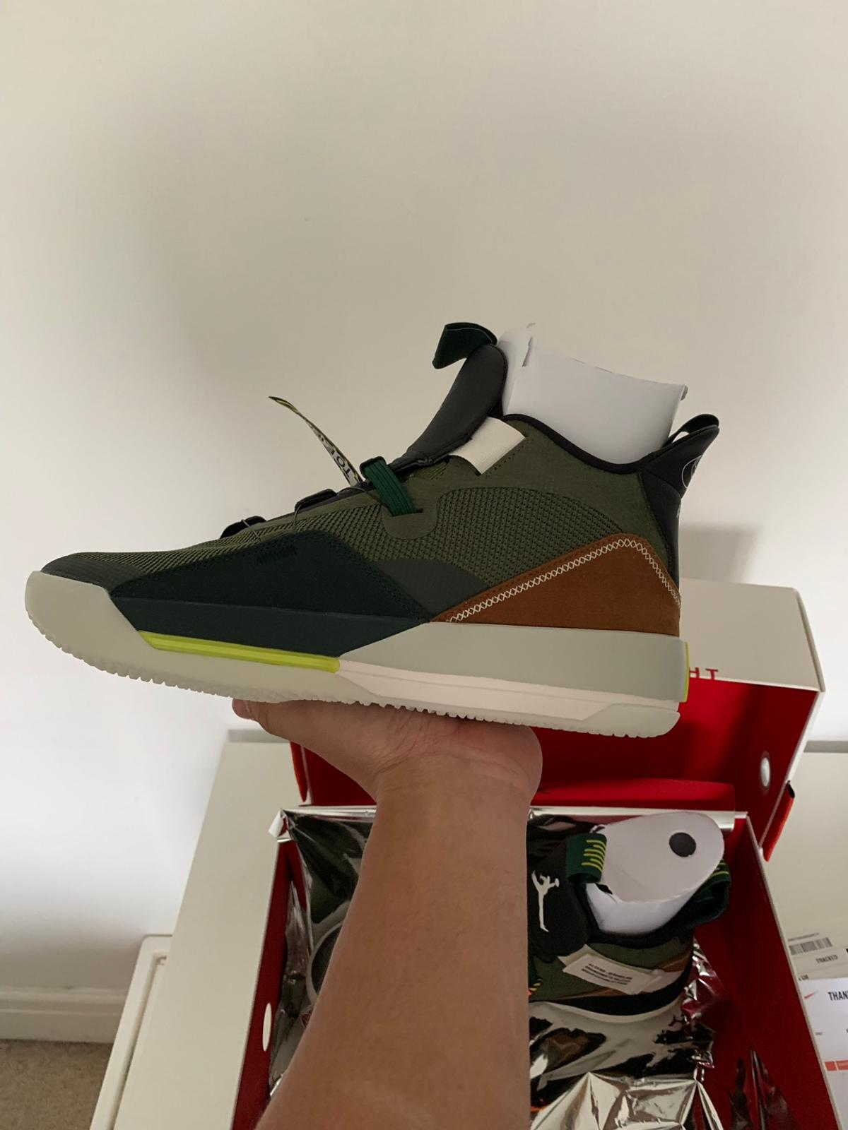 Travis Scott Air Jordan 33 XXXIII UK 9 in TW15 Spelthorne