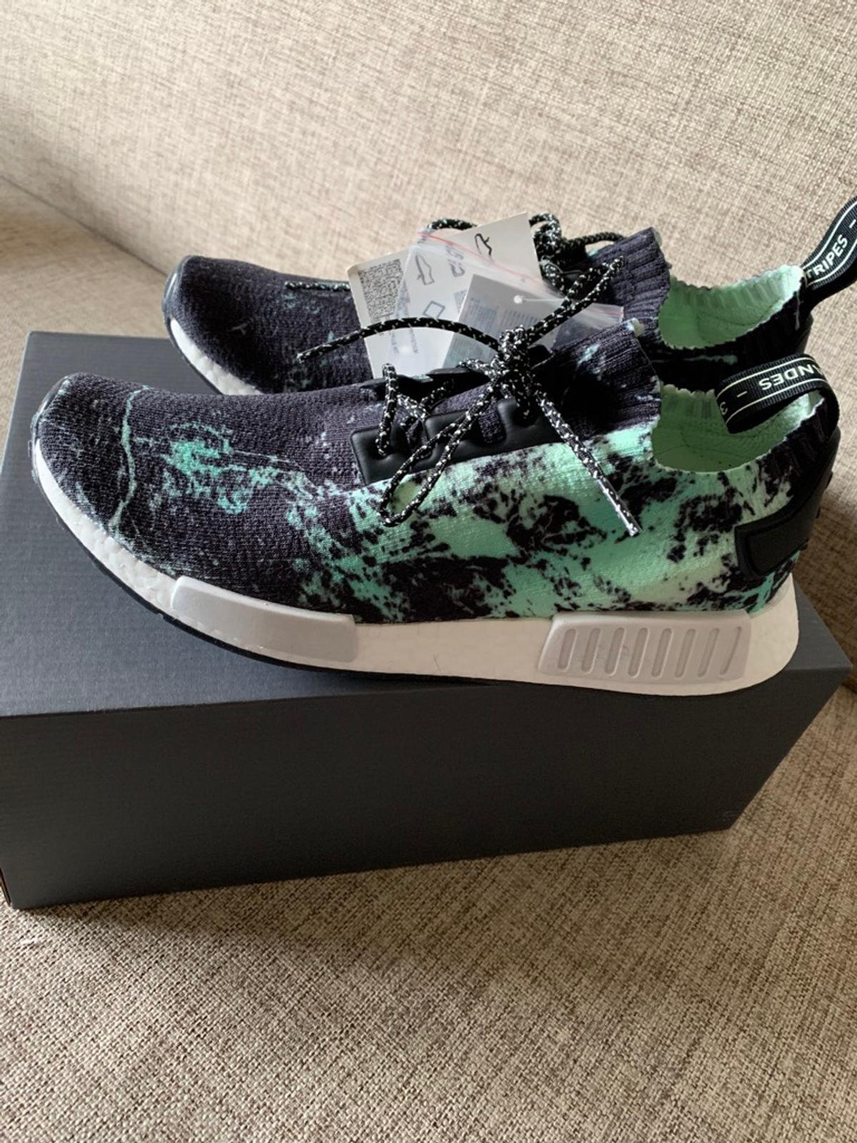 check out bf60f 22b46 Adidas NMD R1 Green marble