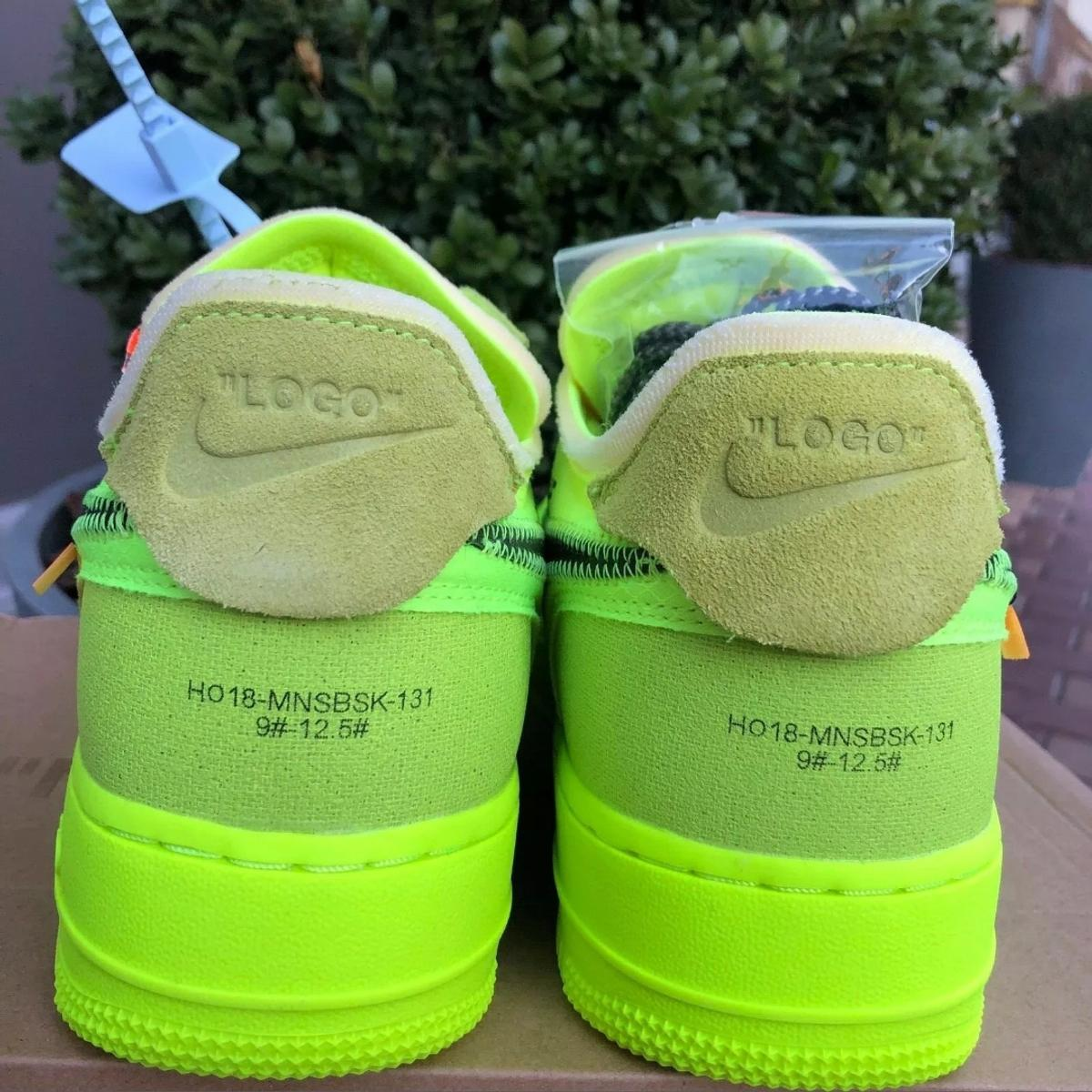 OFF WHITE X Nike Air Force 1 Volt in HA4 London for £350.00