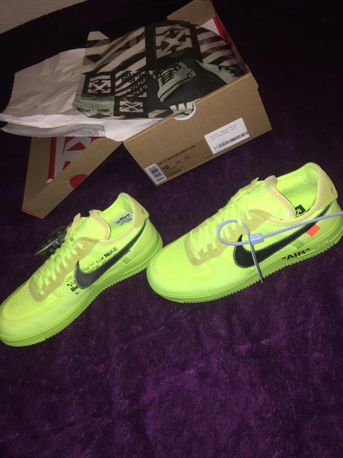 Nike Air Force 1 x Off White UK Size 9
