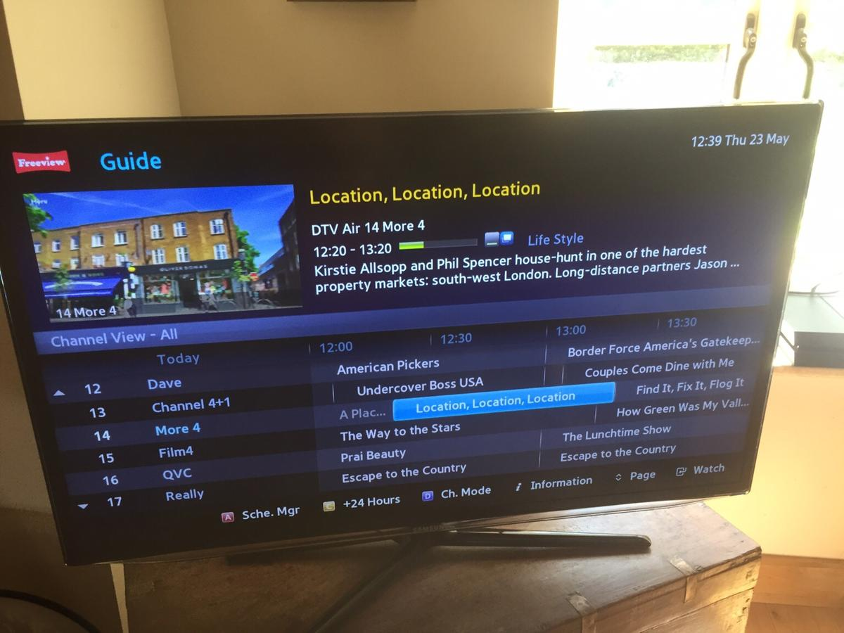 Samsung LED 3D TV Series 6 in Telford for £115 00 for sale