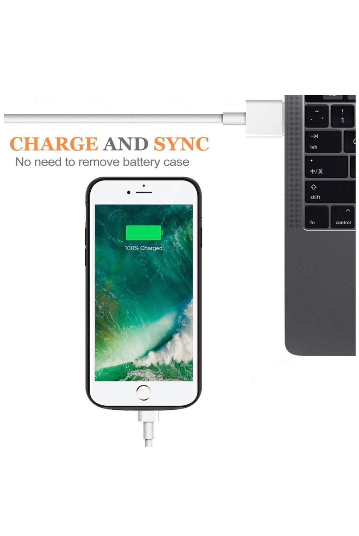 on sale a5d05 528c2 iPhone 7-8 battery backup case