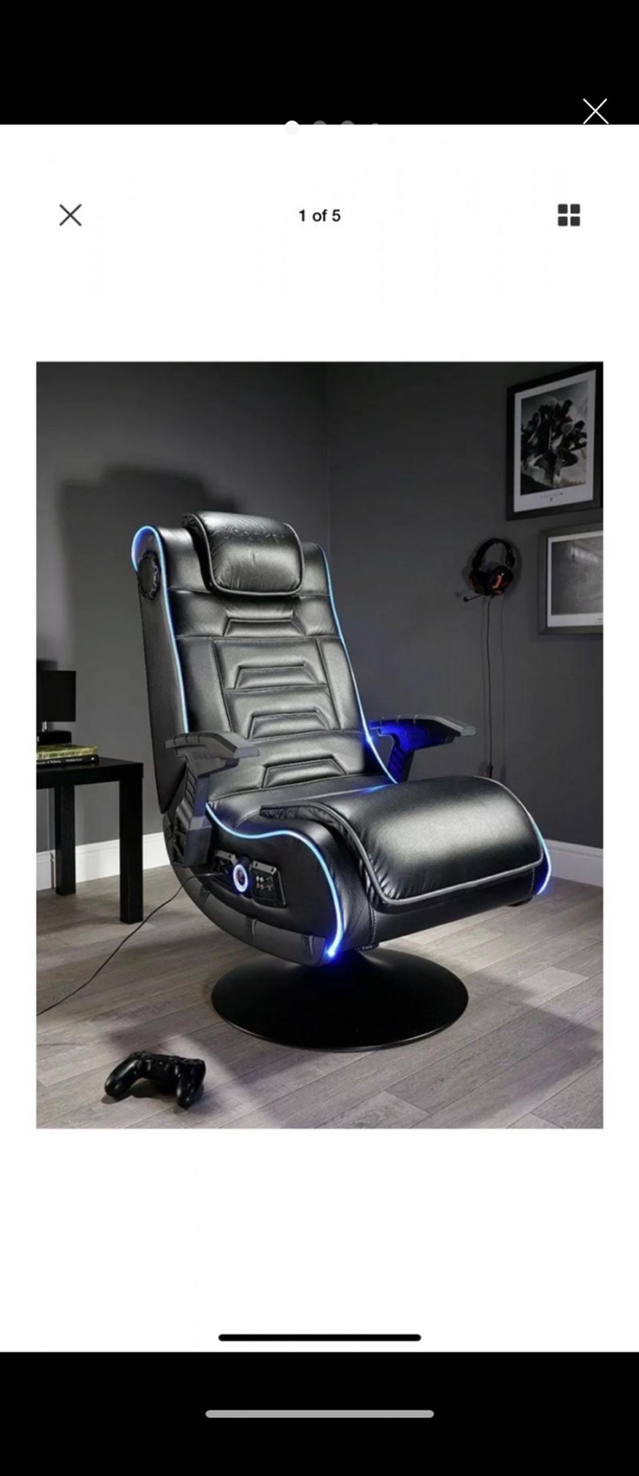 Awesome X Rocker New Evo Pro Gaming Chair In Sw1V London Fur 130 00 Gmtry Best Dining Table And Chair Ideas Images Gmtryco