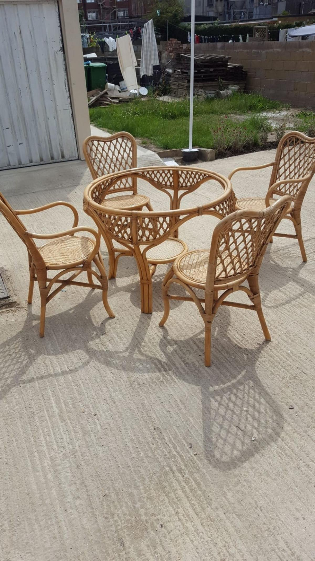 Picture of: Bamboo Dining Set In Sl1 Slough For 50 00 For Sale Shpock