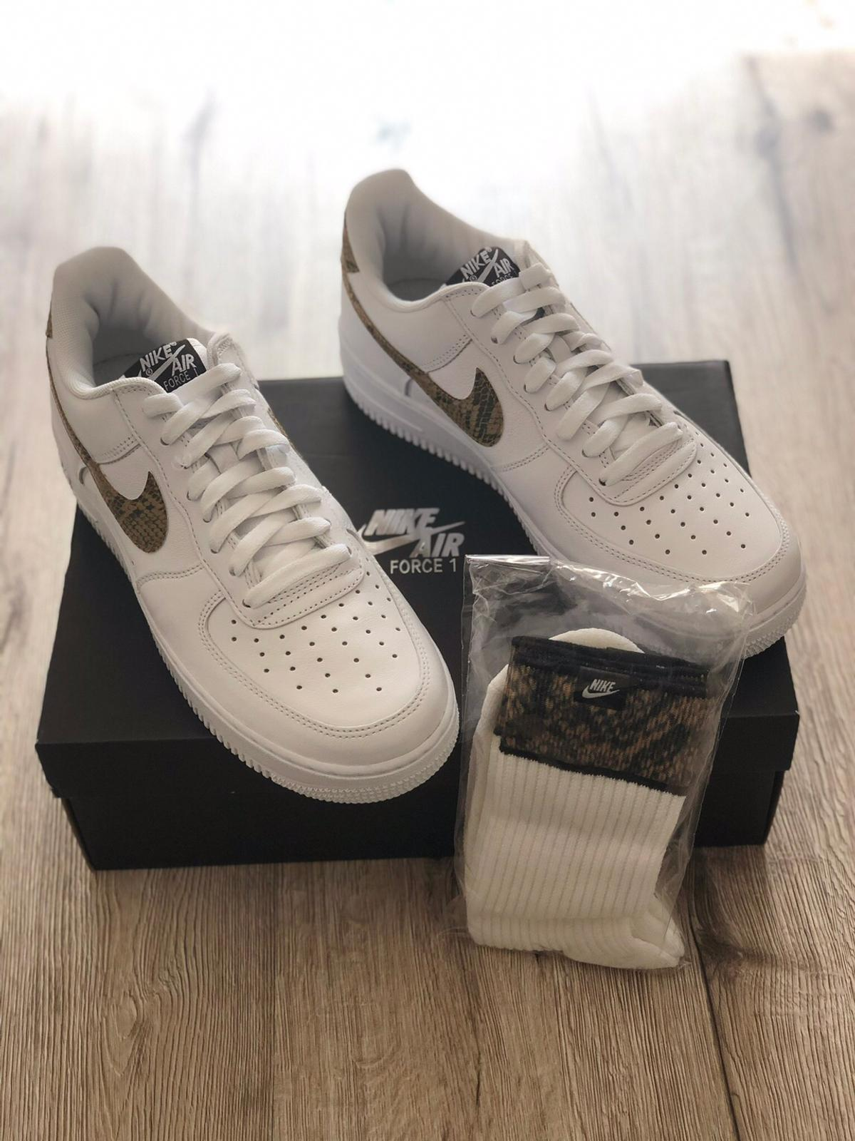 Nike Air Force 1 Low Ivory Snake in 44357 Dortmund for