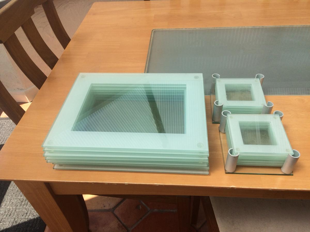 Glass Table Mats And Coasters In Br6 Bromley For 10 00 For Sale