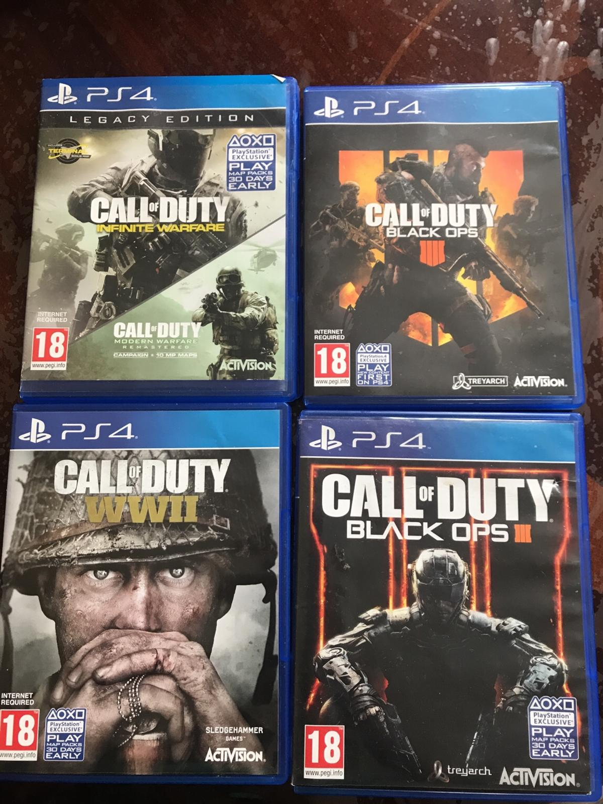Ps4 Call Of Duty Games In Ol11 Rochdale For 7 00 For Sale Shpock