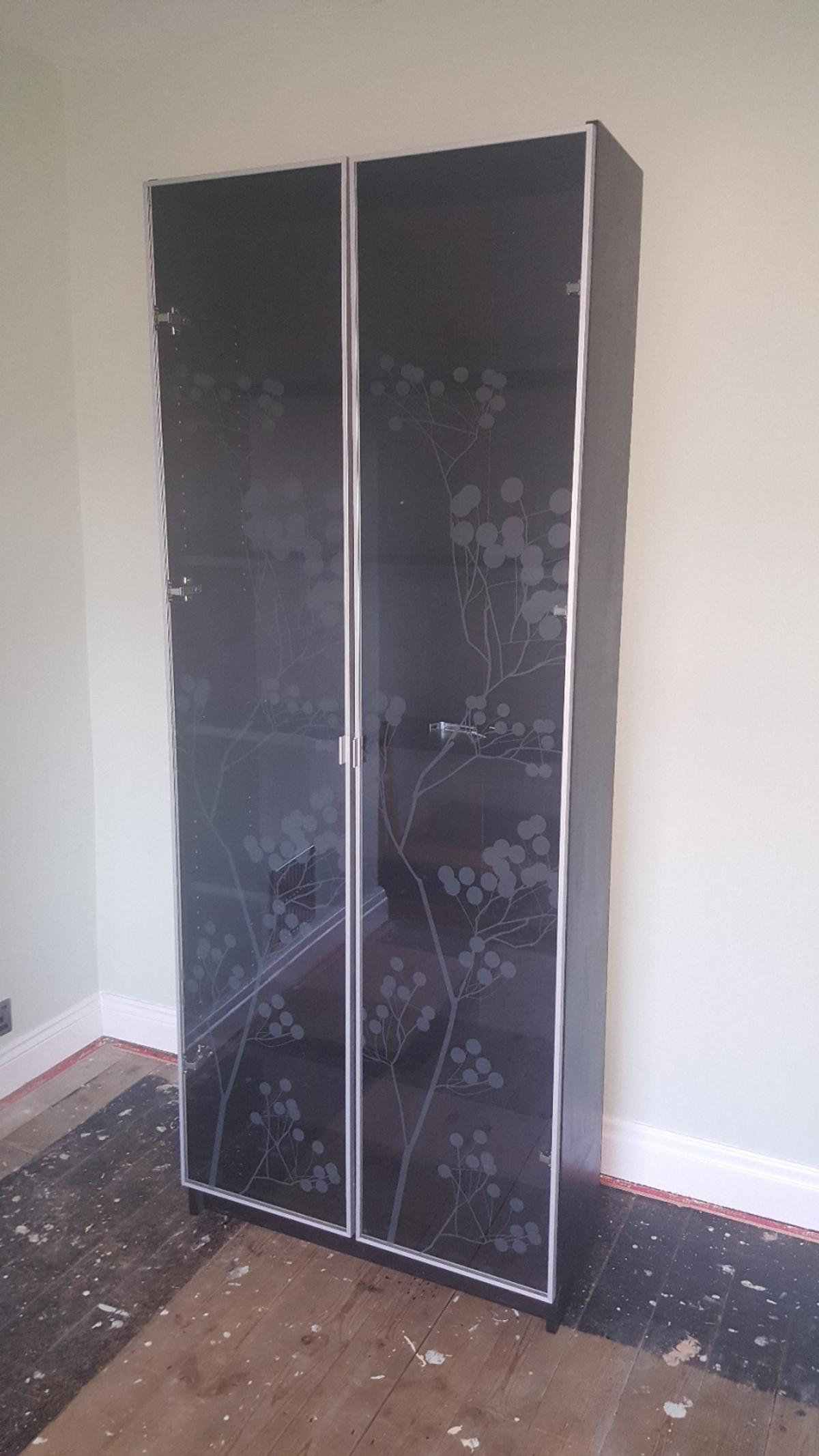 Ikea Billy Bookcase With Glass Doors In Ls13 Leeds For
