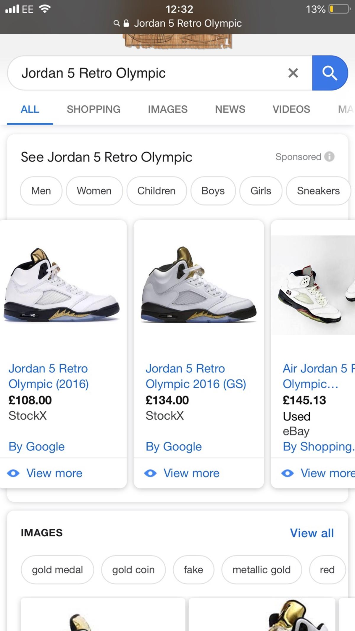 422a80779b7 Air Jordan Olympic 5 size 8 excellent cond. in B5 Birmingham for ...