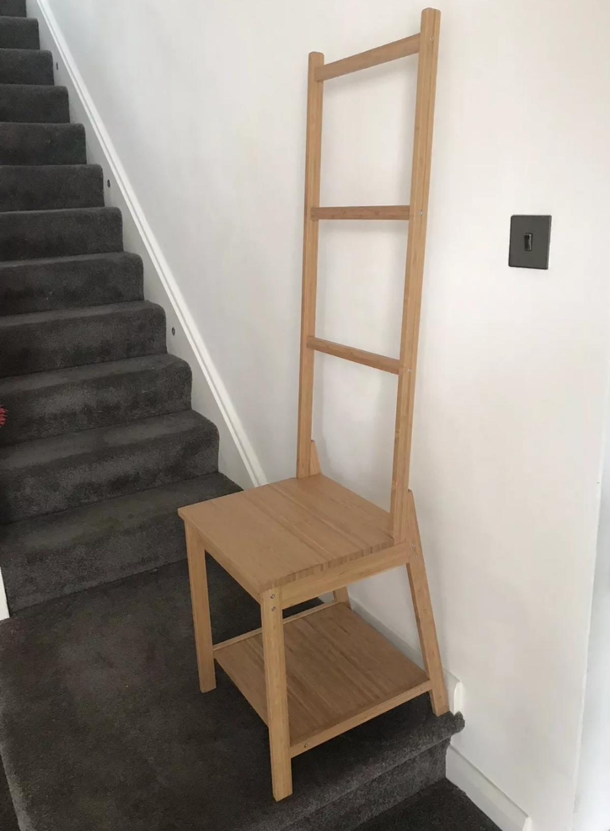 Ikea Towel Rail Ladder Chair In Dl5 Aycliffe For 15 00 For Sale Shpock