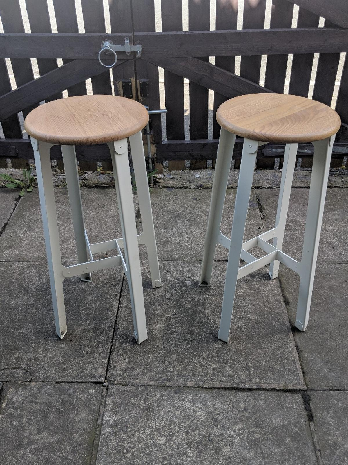 Terrific 2 X Naughtone Construct Bar Stools Rrp 560 Caraccident5 Cool Chair Designs And Ideas Caraccident5Info