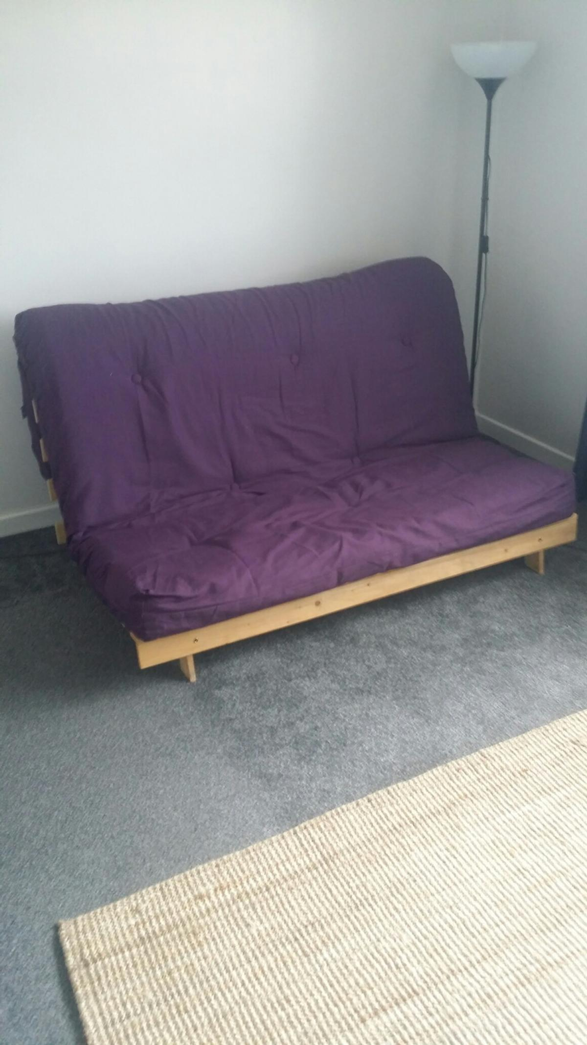Superb Double Futon Sofa Bed Kyoto In Coventry For 60 00 For Machost Co Dining Chair Design Ideas Machostcouk