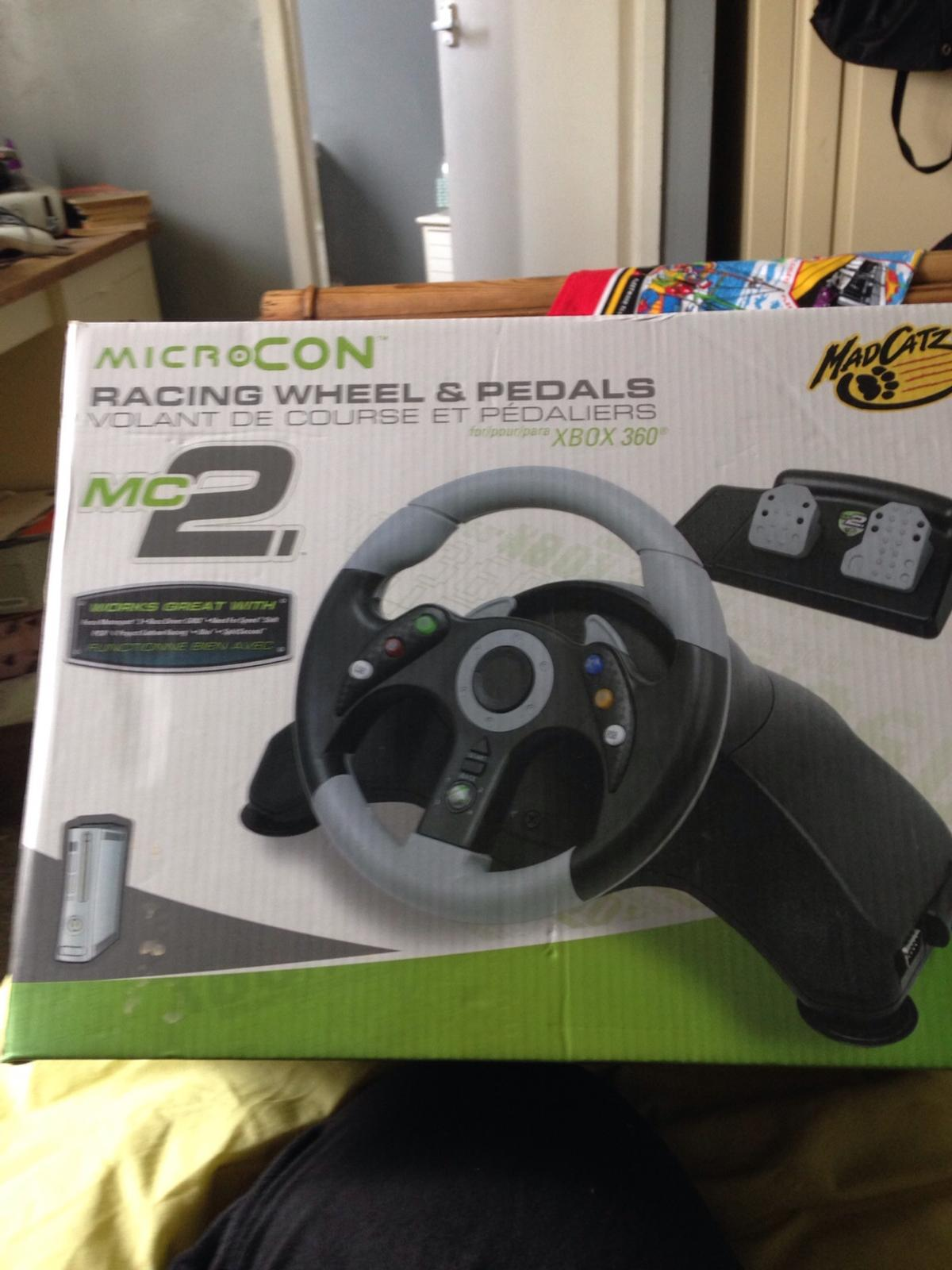 73e49338cec Racing wheel and pedals in Walsall for £10.00 for sale - Shpock