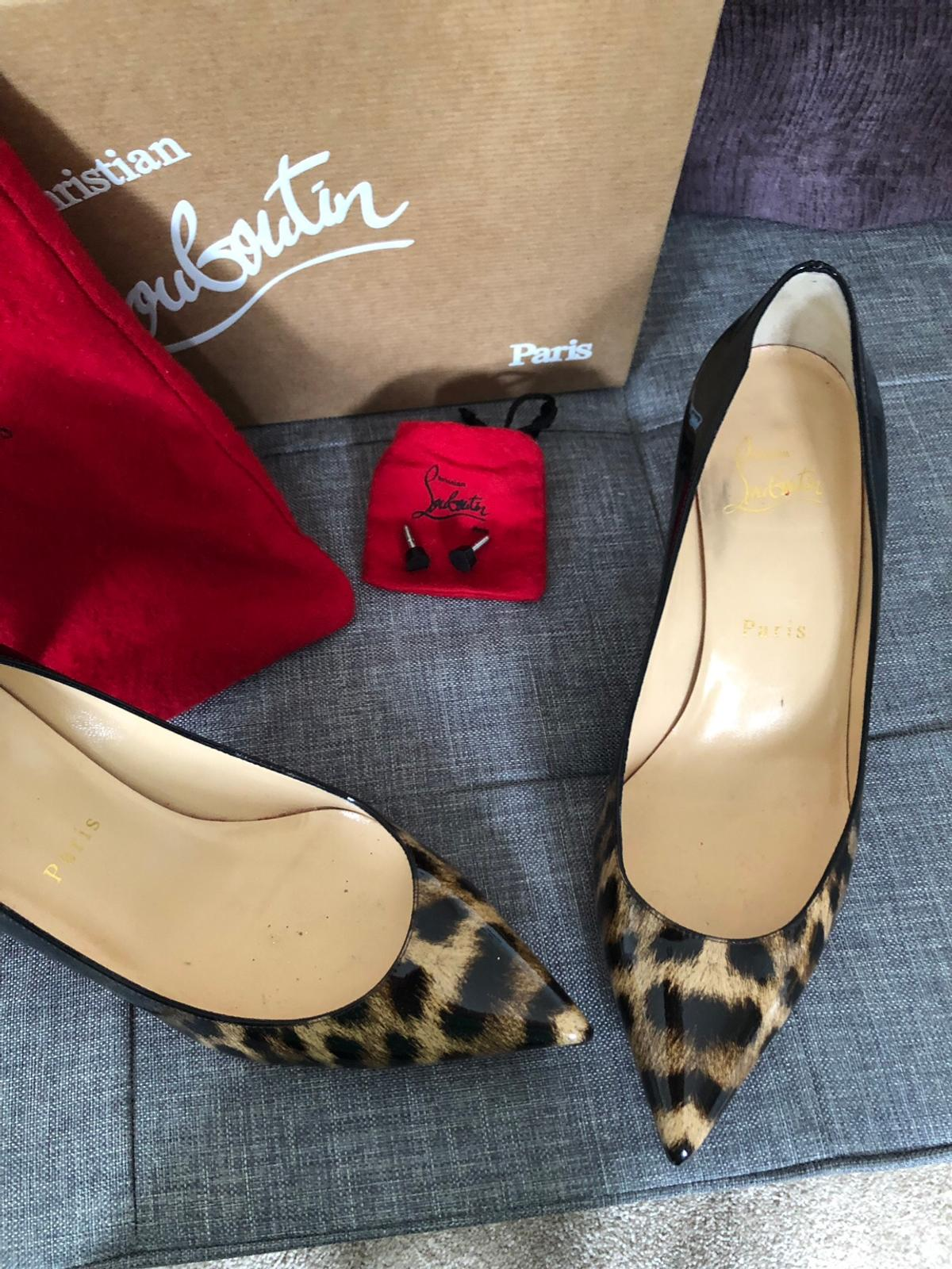 free shipping e301d c18d0 Christian Louboutin Pigalle Follies 55 Patent in KT6 Thames ...