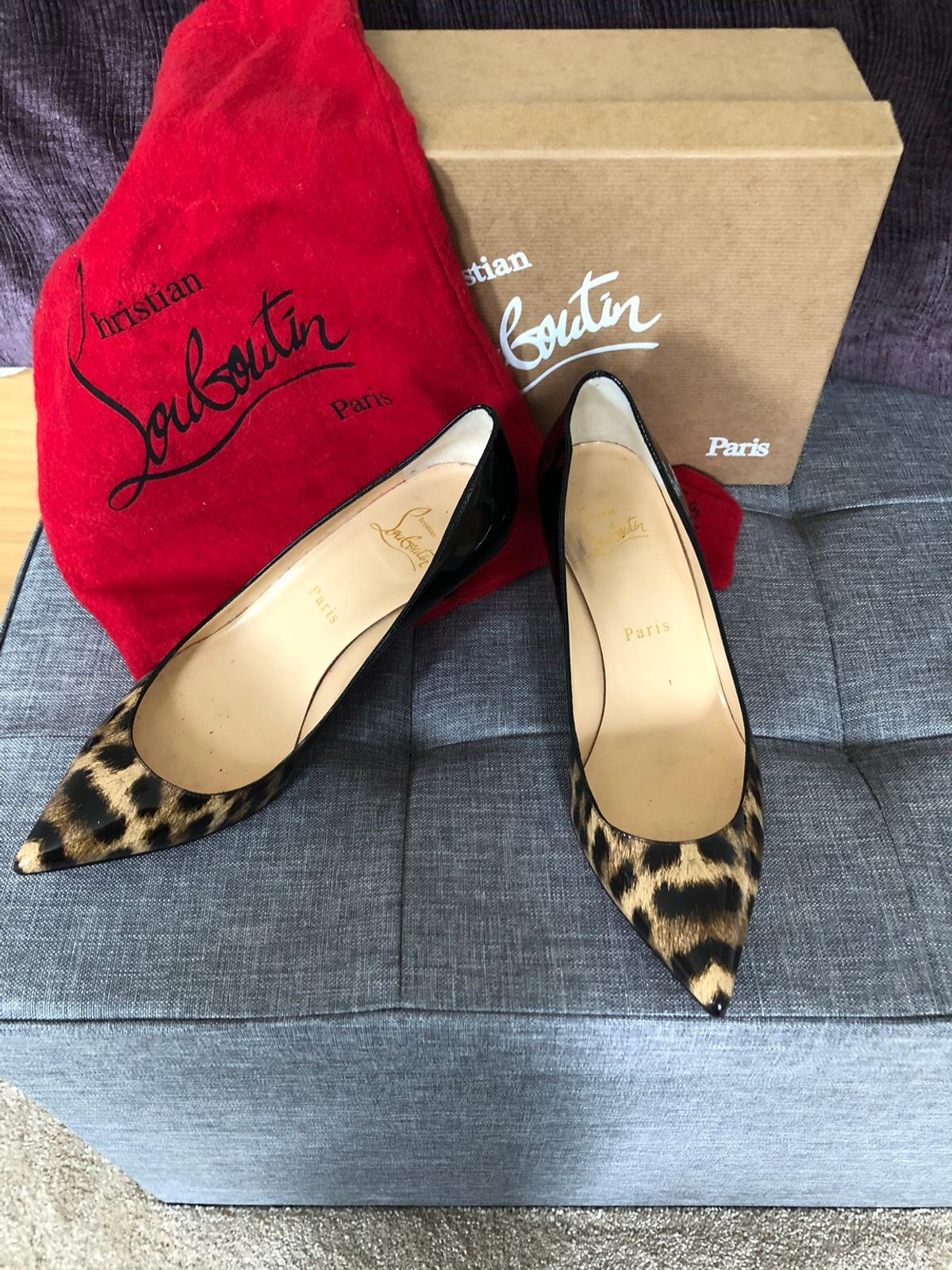 free shipping 2d1a5 12b59 Christian Louboutin Pigalle Follies 55 Patent in KT6 Thames ...