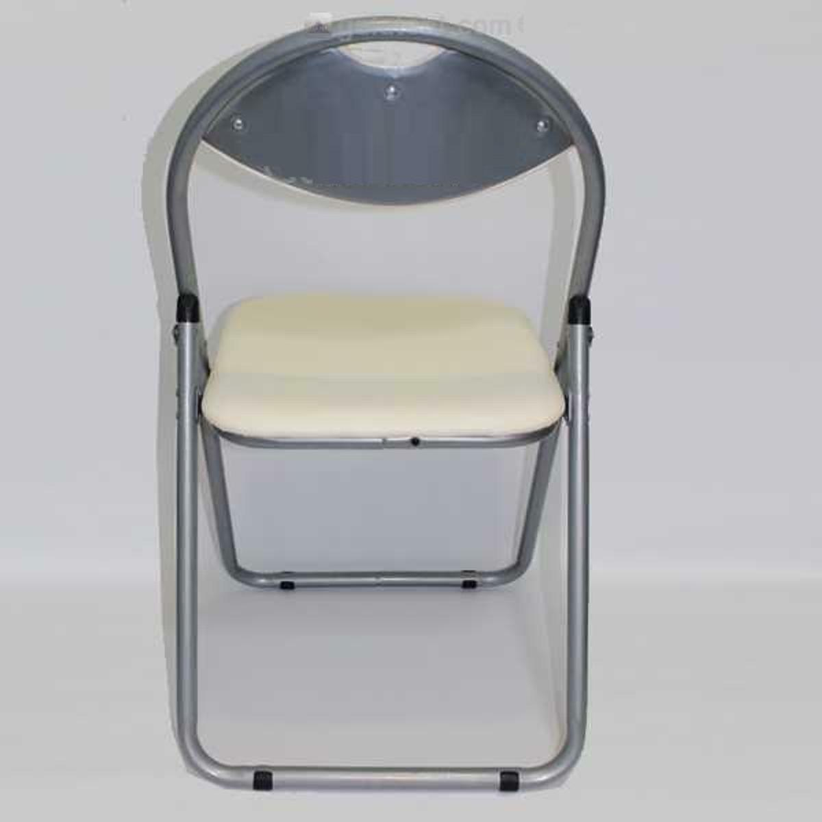 Magnificent Padded Folding Office Chair Cream In B91 Solihull For Ibusinesslaw Wood Chair Design Ideas Ibusinesslaworg