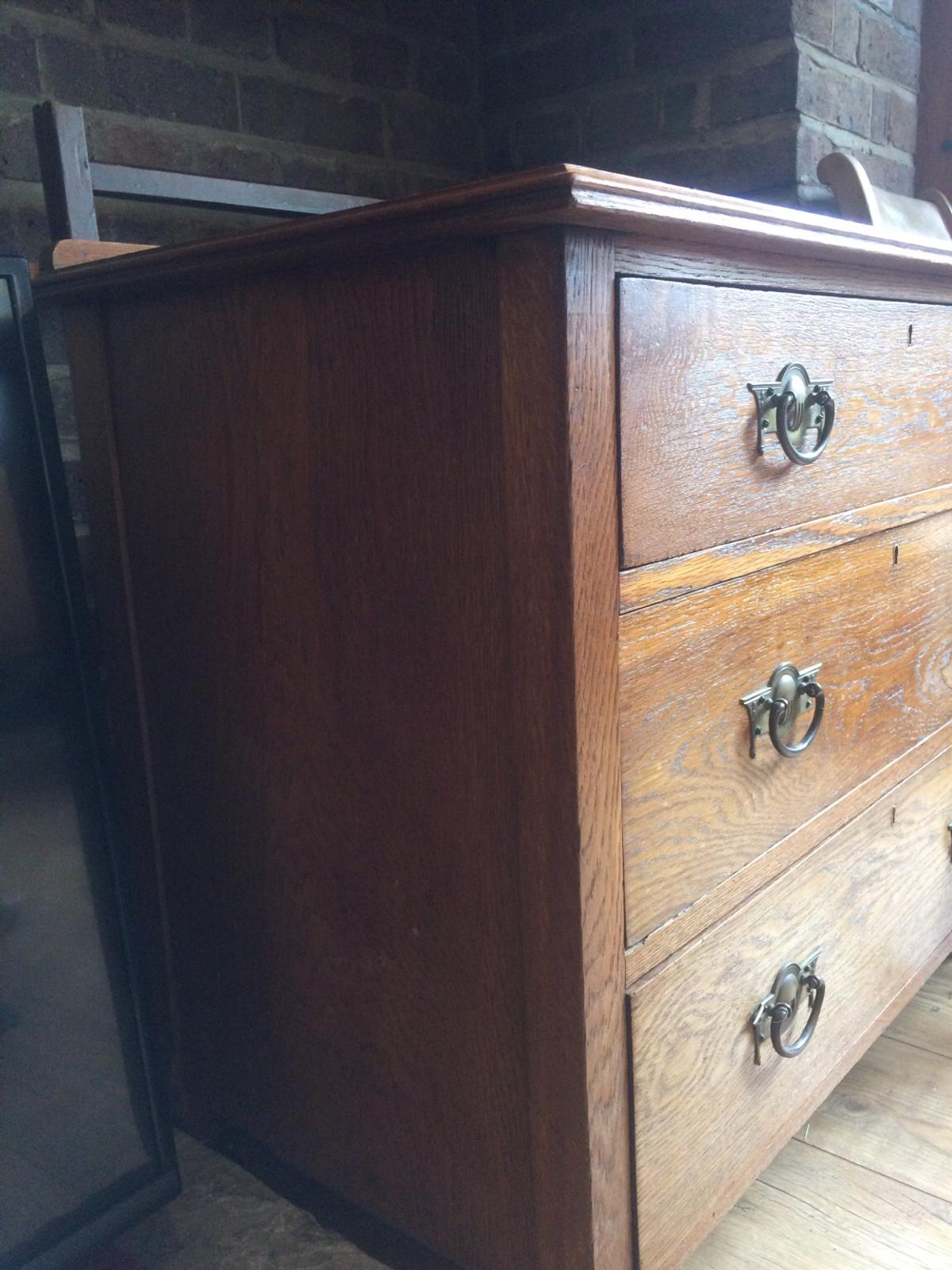 Antique Wooden Chest Of Draws In Nw11