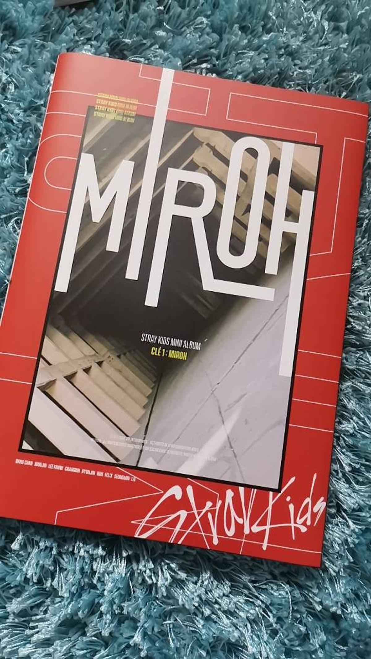 Stray Kids Clé1:Miroh Limited Version