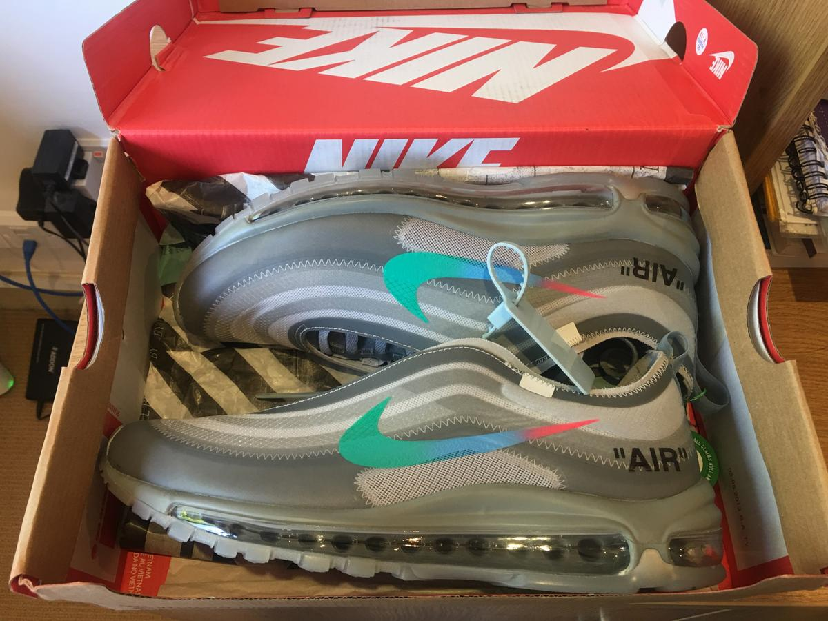 nike air max 97 off Weiß menta stockx