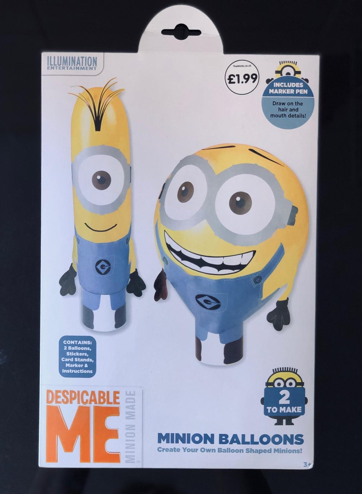 Despicable Meminion Balloons In Fy7 Wyre For 100 For Sale Shpock