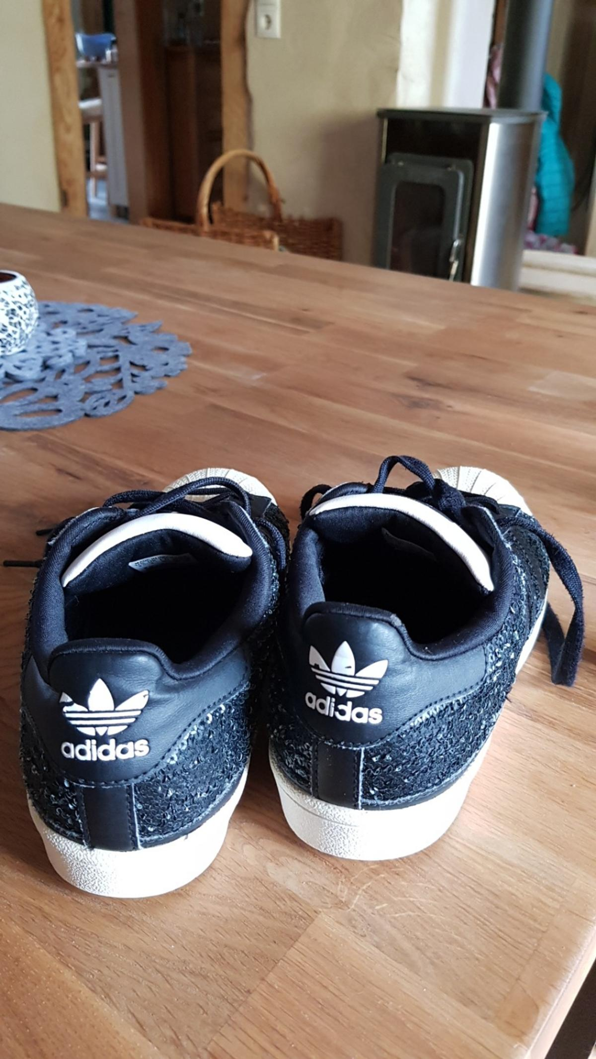 Adidas 36 schwarz Superstars 67310 Sneakers in weiß 8OkXwNPn0