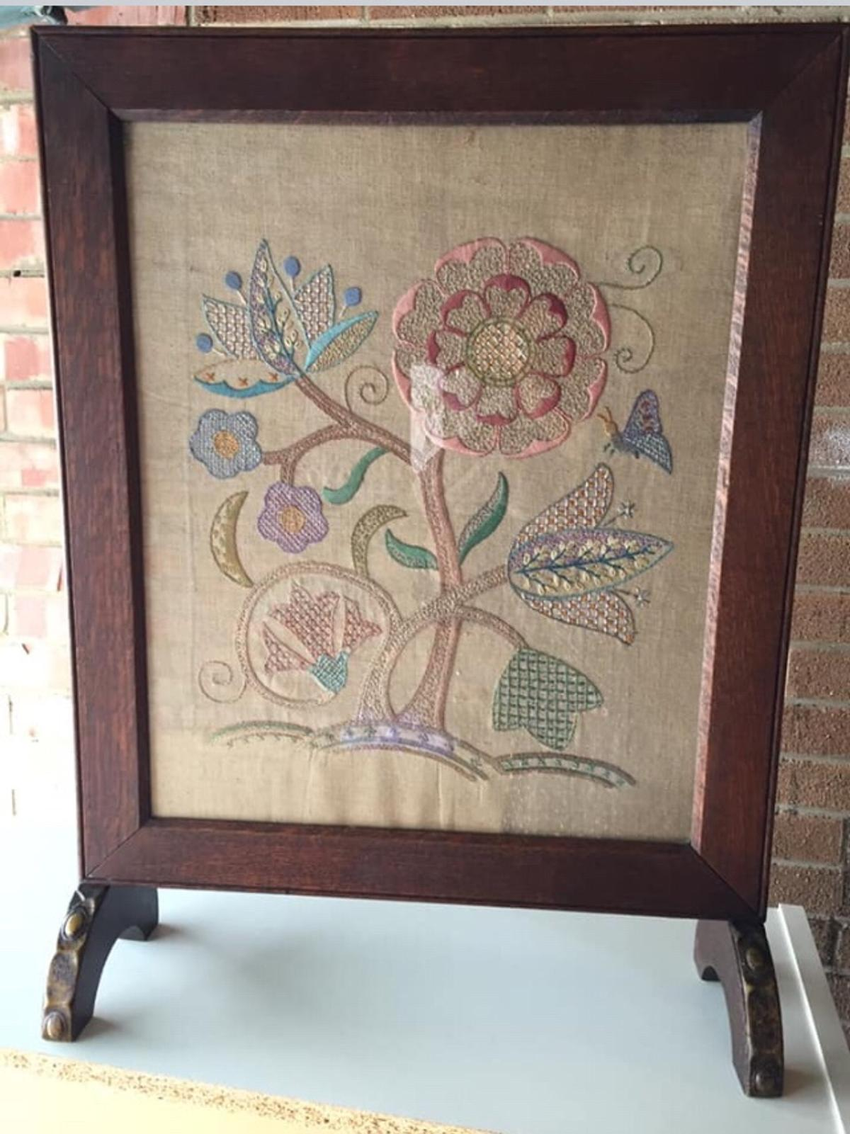 Fire Screen Decorative Antique In Middlesbrough For 12 00 For Sale Shpock